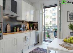 Cucina design 10 mq - 50 foto cucina idee interne, scegliere la migliore