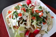 Ensenada Style Fish Tacos by Duo Dishes