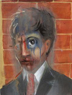 Giorgos Chatziagorou, Man's Head on ArtStack #giorgos-chatziagorou #art
