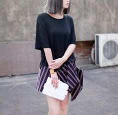 Dear Simple Black Crop Tee  $29.99 http://www.helloparry.com/collections/top/products/dear-simple-black-crop-tee