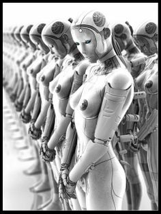 http://www.pinterest.com/marzolb/cyber-i-rotot/   We Are Robots
