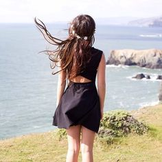 The Bethan Dress from brandy Melville. Preferably in a floral print or in black.