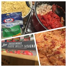 Want an easy (but still flavorful!) new take on lasagna? We've got you covered with this fantastic SausageWork's One Skillet Lasagna dish! Easy to make and ready quickly, it's a family pleasing dish for all!