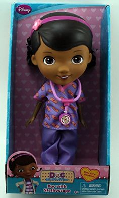 "Disney Doc McStuffins 9"" Doll - Doc With Stethoscope"