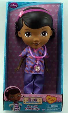 "Disney Doc McStuffins 9"" Doll - Doc With Stethoscope"