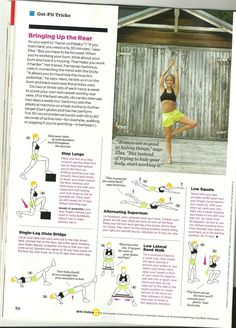 Elsa Pataky's workout from Women's Health June 2013