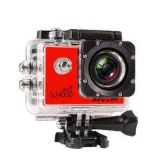 จัดเลย  SJCAM Original SJ4000 WiFi Version Full HD 1080P 12MP Action Camera30m Waterproof Sports DV Red - intl  ราคาเพียง  6,197 บาท  เท่านั้น คุณสมบัติ มีดังนี้ NTK96655 + AR0330 solution Wi-Fi Function, the user can operation or review via Android orfor iOS Device Mini appearance, diversified colors available A water-resistant casing that allows you to film fascinatingwater sports Multiple photo shooting modes: Single shot, Snapper Multiple video recording formats: 1080P 720P WVGA…