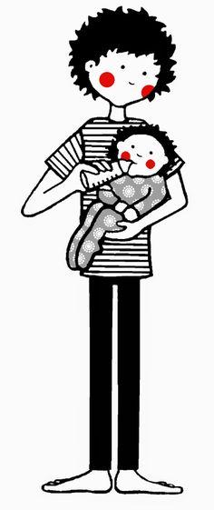 ilustración album bebé