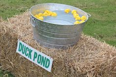 Duck pond game at John Deere party
