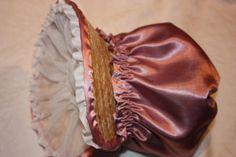 Make a Regency Poke bonnet