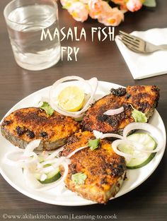 When I first saw Masala Fish Fry recipe from Jay's Space, I was too tempted to try it out soon and bookmarked long ago. Last sunday I got the opportunity to try it and it was so good. Prawn Recipes, Fried Fish Recipes, Veg Recipes, Seafood Recipes, Cooking Recipes, Light Recipes, Chicken Recipes, Vegetarian Recipes, Tasty