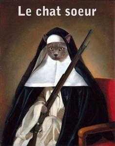 Le Chat-soeur