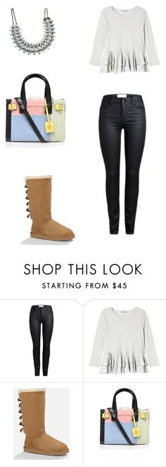 """""""C A S U A L"""" by andytorres3308 on Polyvore featuring Rebecca Taylor, UGG Australia, Kurt Geiger, women's clothing, women, female, woman, misses and juniors"""