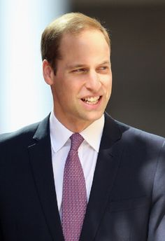 Prince William, Duke of Cambridge arrives at St Andrew's Cathedral for 2014 Easter Sunday Service in Sydney, Australia.