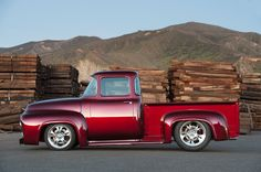 Bodie Stroud 1956 Ford F-100 Restomod Is Truck Lover's Dream