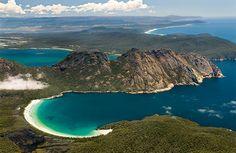 Tasmanien von oben