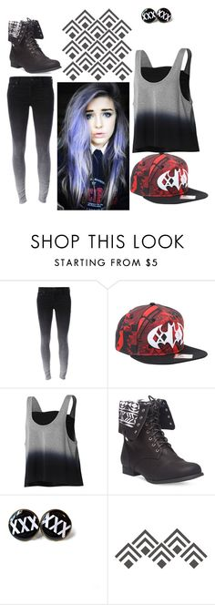 """""""Black Heart"""" by themadonexd ❤ liked on Polyvore featuring adidas, Wet Seal, outfit, emo, bad and ombre"""