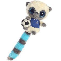 "Soccer ""Yoohoo"" Stuffed Lemur - Set Of 3"