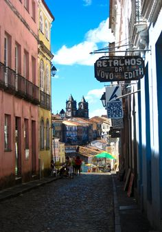 The Streets of Pelorinho