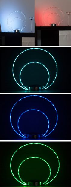 LED Deko Tischlampe Brilliant LeuchtenWohnzimmerSchlafzimmerBuroKuche