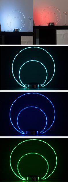 LED-Deko-Tischlampe, Brilliant Leuchten#Wohnzimmer#Schlafzimmer - led deko wohnzimmer