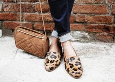 leopard print loafers   sincerely jules