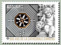 Les beaux timbres français des années 2000: 800 ans de la Cathédrale d'Amiens Monuments, Sell Stamps, Stamp Catalogue, France, Page 3, Postage Stamps, Art, Culture, Architecture