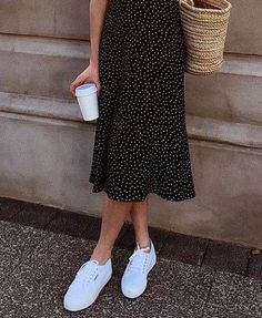 These Are the Best Shoes to Wear With a Midi Skirt | Who What Wear UK - #Midi #shoes #Skirt #UK #wear