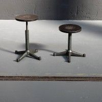 adjustable cast iron stools - now in our shop: www.worksberlin.com