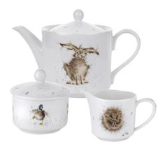 Royal Worcester Wrendale Tea Set
