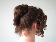 Pride and Prejudice Hair Tutorials | Yay! We're done. You now have a lovely, elegant hairstyle.