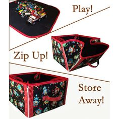 Play Then Store Away Basket | The best sewing patterns for women, girls, toys and more. Go To Patterns & Co. $7.99
