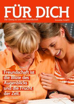 Cover einer selber gemachten Zeitschrift für eine ganz besondere Freundschaft! #Geschenk #Ideen #DIY