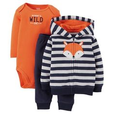 Just One You™ Made by Carter's® Toddler Girls' 2-Piece sets Foxtail Orange