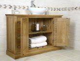 Light Oak Bathroom Vanity Unit #oakvanity #bathroom Oak Vanity Unit, Oak Bathroom Vanity, Basin Sink Bathroom, Bathroom Furniture, Bathroom Medicine Cabinet, Sink Units, Light Oak, Solid Oak, The Unit
