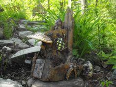 Elf-Fae folk- Pixie- fantasy garden decor