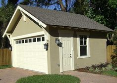 Plan W44080TD: Craftsman Style Detached Garage Plan