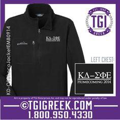 TGI Greek - Kappa Delta - Homecoming Jacket - Kansas State Homecoming #tgigreek #kappadelta