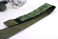 Adjustable Velcro Bandolier / Vertigreen pencil by cleverhands