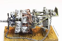 Luftwaffe BMW 801D radial engine (WWII), 1:48 Aires and Eduard set. FINISHED!
