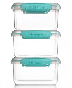 Martha Stewart Collection Storage Containers, Set of 3 - Martha Stewart Collection - Kitchen - Macy's