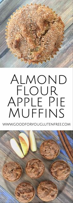 Mandelmehl-Apfelkuchen-Muffins Mandelmehl-Apfelkuchen-Muffins – gut für Sie … Almond flour apple pie muffins almond flour apple pie muffins – good for you the free gluten bake apple pie Apple Pie Muffins, Almond Flour Muffins, Baking With Almond Flour, Almond Flour Recipes, Apple Pies, Desserts With Almond Flour, Coconut Flour, Recipes With Nut Flour, Almond Butter