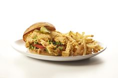 Limited Time Offer - Crazy Crab Sandwich!  http://www.cheeseburgerinparadise.com/locations/