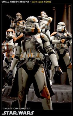 toyhaven: Preview Sideshow Collectibles Star Wars 1/6th scale Utapau Airborne Trooper 12-inch figure