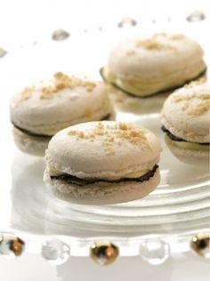 Macarons de camembert d'Isigny aux truffes fraîche