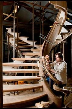 Trapart - Gallery of stairs, exclusive staircases made by Trapart Jop van Driel