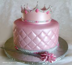 Pink princess birthday cake... Perfect for my Ally Baby