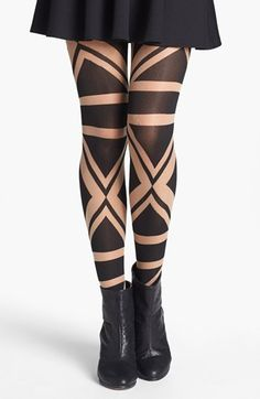 Have fun with some patterns! Pretty Polly 'Patriotic' Tights available at…