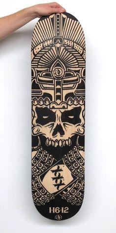Need this deck! Skate Longboard, Longboard Decks, Longboard Design, Skateboard Deck Art, Skateboard Design, E Mtb, Skate Art, Skate Decks, Longboarding