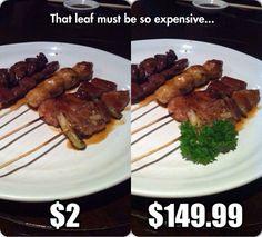 Those Fancy Restaurants